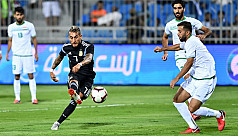 Four-goal Argentina too strong for Iraq...