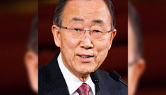 Former UN chief Ban Ki-moon in Dhaka