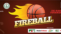 Fireball 3x3 Basketball to commence...
