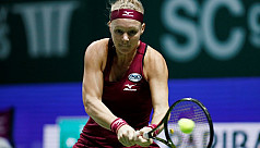 Bertens advances in Singapore after...