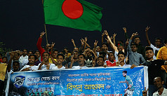 Biplo greeted to a grand homecoming in Sylhet