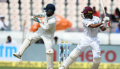Chase revives West Indies after Yadavs...