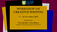 ULab and BLB to organize Creative Writing...