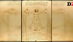 Indian author claims Da Vinci's 'Vitruvian man' has roots in India