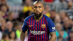 Vidal unhappy with lack of playing time...