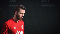 De Gea focussed on playing not contract...