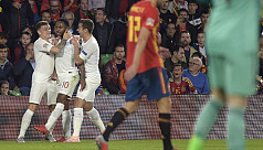 Ruthless England leave Spain shell-shocked...
