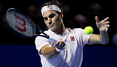 Federer beats Copil to win 99th career...