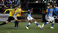 Martins on target as Atletico scrape...