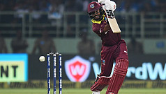 West Indies' Hope dampens Kohli's day...