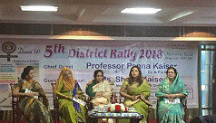 Inner Wheel District 345 Rally, 2018 takes place in Banani