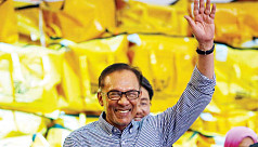 Poll officials: Malaysia's Anwar wins parliamentary by-election