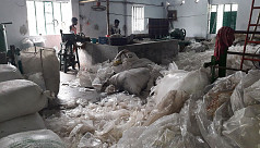 Khulna polythene factory operating in...