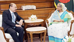 Indian high commissioner meets Sheikh...