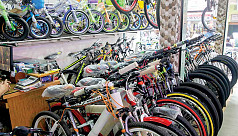 Imported bicycles grab major share of...