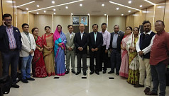 Awami League delegation leaves for China...
