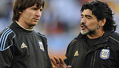 Maradona lashes out at Messi in greatest...