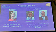 Trio win Nobel Chemistry Prize for research...