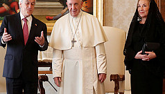 Pope defrocks two Chilean bishops over...