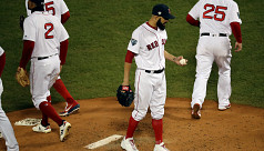 Red Sox dump Dodgers to take control...