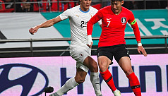 Jung gives South Korea 2-1 victory over...