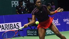 Calm Stephens edges Osaka, Kerber stunned...