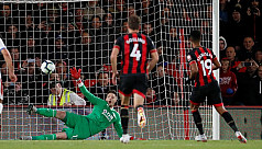 Late Stanislas penalty gives Bournemouth...