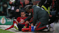 Bayern's Thiago ruled out for weeks...