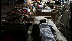 In quake-hit Haiti, hospital labours to treat the wounded