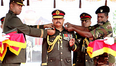 Army chief adorned colonel comandant...