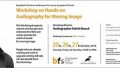 Nahid Masud to take workshop on...