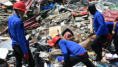 Indonesia quake: 34 Bible study students...