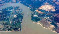 Karnaphuli River width has shrunk to 410 metres, states a survey