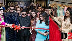Shakib, Jaya, Oishi open Prem's Collections...