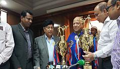 National Wushu Championship begins...