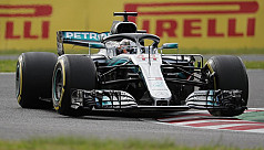 Hamilton grabs 80th pole as Vettel...