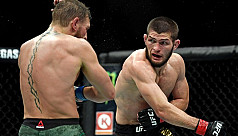 Brawls overshadow Khabib's UFC title win over McGregor