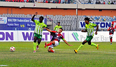 Colindres treble fires Bashundhara to...