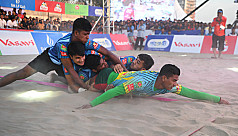 Bangladesh Navy win big as Beach Kabaddi...