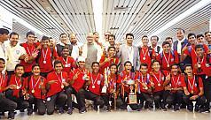 U-15 boys to be felicitated by PM Thursday...