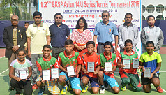 Bangladesh dominate Asian U-14...