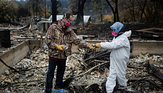 California fire mostly contained, death...