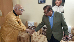 BNP Sylhet 1 candidate Enam visits Muhith