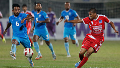 Abahani lose against Sk Russel