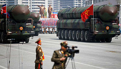 North Korea condemns US sanctions, warns...