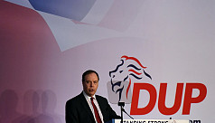 Northern Irish DUP rallies opposition...