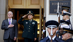 US presses China to halt militarization...