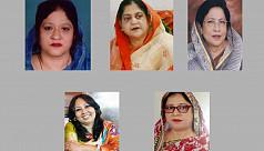 Five female aspirants seeking nominations...