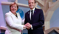 Macron, Merkel meet amid WWI centenary...