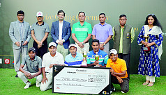 Prize giving ceremony of Gemcon Golf held